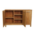 LINO Sideboard Massivholz mit 3 Türen 180 cm Wildeiche