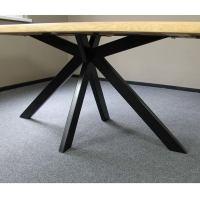 Tischgestell Spider Fuß Pulverlackiert schwarz
