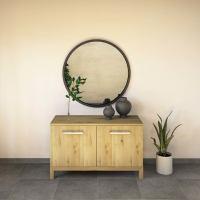 Moderne LINO Kommode mit Türen Massivholz