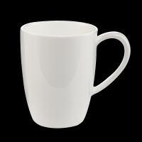 Weiße Kaffeetasse 11 cm / 0.4 l - 6 Stück