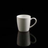 Weiße Espresso-Obertasse 6 cm / 0.1 l - 6 Stück