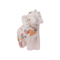 Porzellan Figur Elephant - Mulika