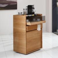 Hochwertiges Kaffeeschränkchen Massivholz