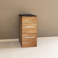 Massivholz Schubladen-Küchenmodul - 40 cm