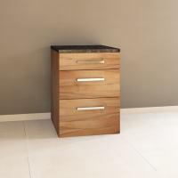 Massivholz Schubladen-Küchenmodul - 60 cm