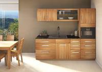 Massivholz Schubladen-Küchenmodul - 80 cm
