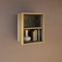 Massivholz Küchenmodul Hängeregal - 40 cm