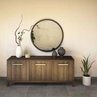 Wohnzimmer Sideboard, Nussbaum 180 cm