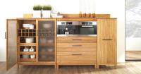 Mittelschrank für Küche mit Holztür