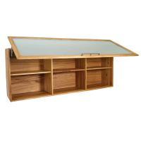 Oberschrank verglast mit Schwenkbeschlag - 180 cm