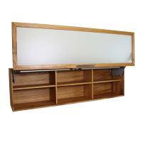 Oberschrank mit verglaster Liftklappe - 180 cm