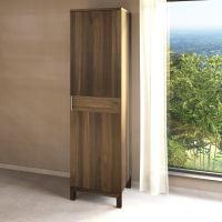 Garderobenschrank Massivholz LINO 1 Türig Nussbaum