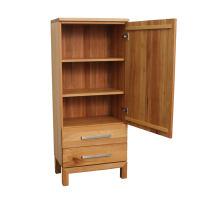 Schmales LINO Highboard Holz Buche