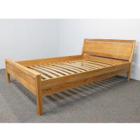 Modernes LINO Bett Classic Massivholz Wildeiche