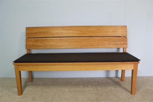 Sitzkissen für LA Bank mit Rückenlehne 160 cm Microfaser